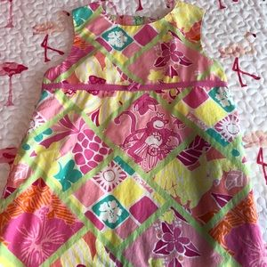 Lilly Pulitzer Toddler Dress Size 4T